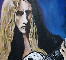 Portrait Jerry Cantrell by couellet