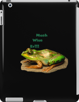 Much Wise Er!!! iPad Case by Catherine Hamilton-Veal  ©