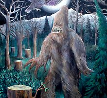 Sasquatch Mountain by Chancey  Hall