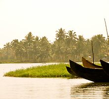 Take Me Away - Kerala Backwaters - India by Tricia Mitchell