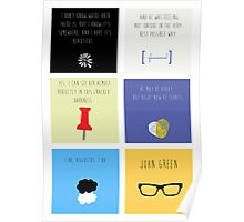 Last Words - John Green edition Poster