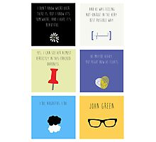 Last Words - John Green edition Photographic Print
