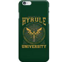 Hyrule University iPhone Case/Skin