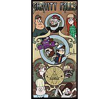 Gravity Falls Art Nouveau Photographic Print