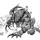Final Fantasy X Ifrit by uytrewq35