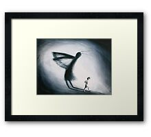 Shadow by Rosalie Street Framed Print