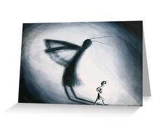 Shadow by Rosalie Street Greeting Card