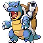 Pixel Blastoise by N1N10D0PE