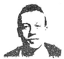 Macklemore Bubble Portrait by RaffttaM