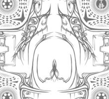 Pinstripe Serenity Sticker