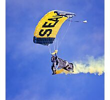 U.S. Navy Parachute Team, the Leap Frogs .2 Photographic Print