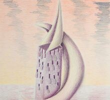 Crescent Moon Tower by jkartlife