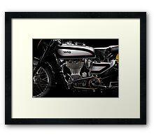 Norton Manx Engine Framed Print
