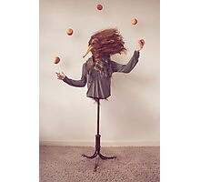 The Juggler - Surreal Photography Photographic Print