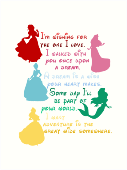 The princesses of Disney by sweetsisters