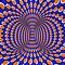 Shapes &amp; Patterns forming an OPTICAL Illusion 