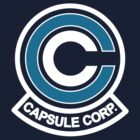 Capsule Corp Logo (dark version) by karlangas