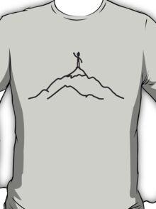 Big Mountain Climber Man T-Shirt