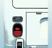 Campervan Back Graphic by Ra12