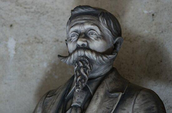 Moustache and Beard by Karen Havenaar