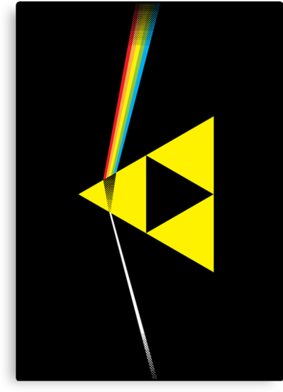 The Dark Side of the Triforce (horizontal) by TedDastickJr