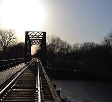 Yankton Railroad Bridge by Yanktonian