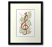 Song Birds Framed Print