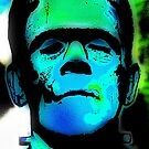 FRANKENSTEIN'S MONSTER-3B by OTIS PORRITT