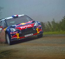 Sebastien Loeb - Racing to Victory (Painting Effect) by Nixcy