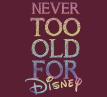 Never too old for Disney by sweetsisters