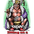 Sitting on a Royal Flush by Brian Vines