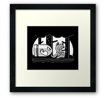 Silver Bullet Bill Framed Print