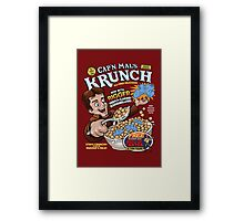 Captain Mal's Krunch Cereal Framed Print