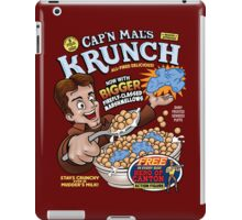 Captain Mal's Krunch Cereal iPad Case/Skin