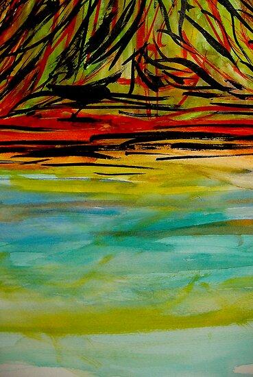 calm...lagoon beach by banrai
