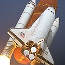 Atlantis STS-45 Launch NASA iPhone Space Case by shifty303