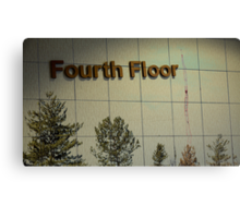 Fourth Floor and Downtown Canvas Print