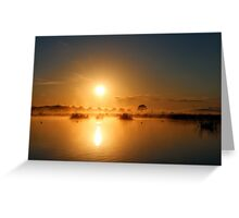 Comes The Sun Greeting Card