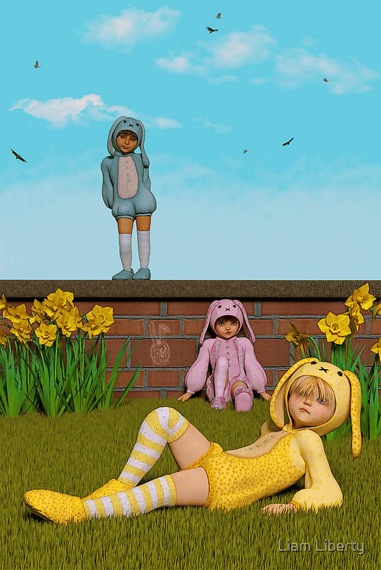 Waiting For Easter by Liam Liberty