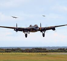 Lancaster - Safe Home by warbirds