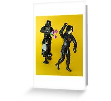 Masked Love Greeting Card