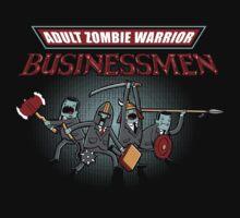 Adult Zombie Warrior Businessmen by Olipop