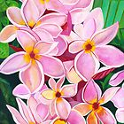 Hawaiian Flowers 1 by Barbara  Strand