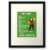 Like Gaston Framed Print