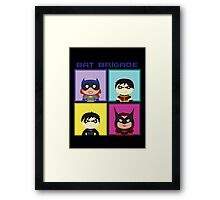 Bat Brigade Framed Print