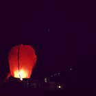 Red Hot Air Balloon by 5unm4g