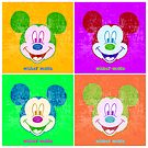 Mickey Mouse in Andy Warhol's style  by McDraw