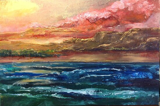 Golden coast of Ireland by viveca