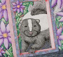 Skunk In Frame by jkartlife