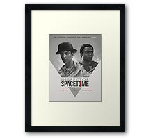 Inspector Space Time Framed Print